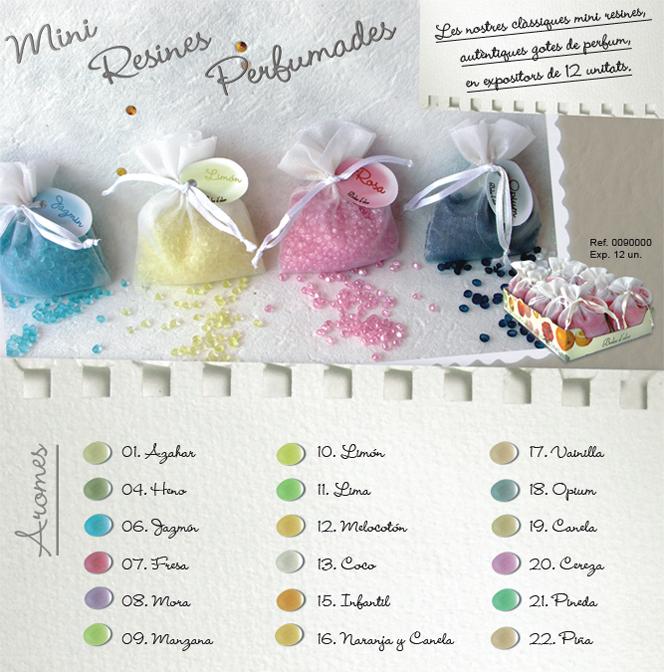 Miniresines Perfumades
